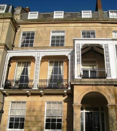 Flat 3 25 Lansdown Place front view