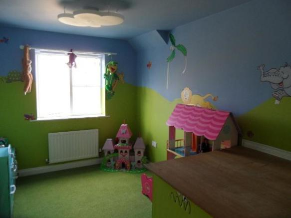 Third bedroom, presently playroom