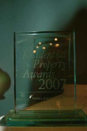 MEN Best Luxury House Award 2007