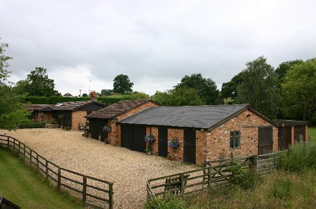 Main house and outbuildings