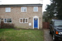3 bed semi detached house in Wentworth Way...
