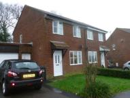 3 bedroom semi detached property to rent in Britannia Way, Chard...