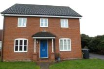 4 bed house in Holly Blue Road...