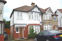 semi detached home in St Margarets Avenue...