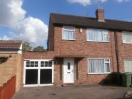 3 bedroom semi detached property to rent in White Oak Drive...