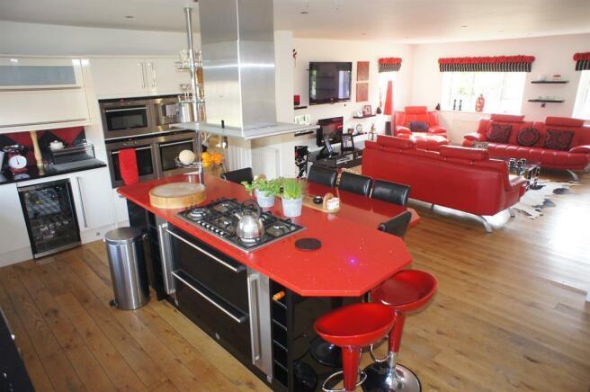 Kitchen diner/sitting room