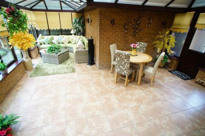 Conservatory From Kitchen