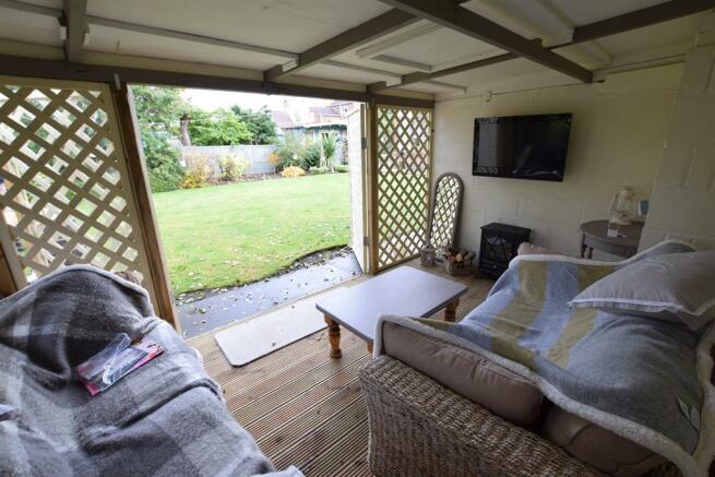Inside summer house