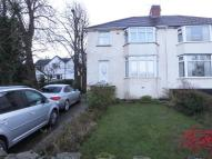 semi detached house in Chesterfield Road...