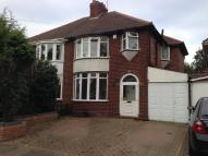 3 bed semi detached house to rent in Rymond Road, Hodge Hill...