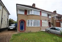 3 bed semi detached property in Hermitage Way, Stanmore...