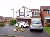 4 bed Detached house for sale in Palmer Close, Branston...