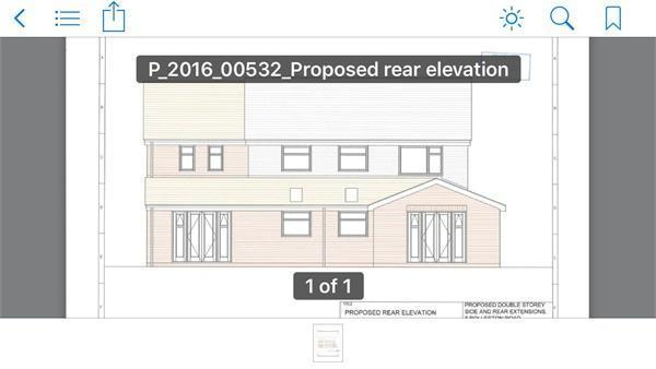Proposed Rear Eleva