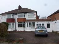 3 bedroom semi detached home in Bibury Road - Hall Green...