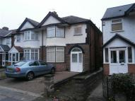 SHIRLEY ROAD semi detached property to rent