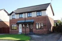 3 bed semi detached property in Bridgend Crescent...