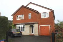 Detached home in Westwood Road, Welshpool...