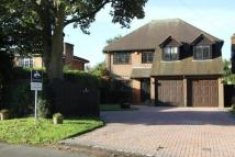 Detached home in Kingfishers Green Lane...