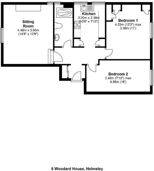FP 8 Woodard House H