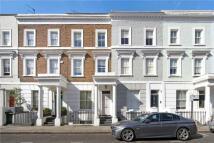 Terraced house in Portland Road, London...