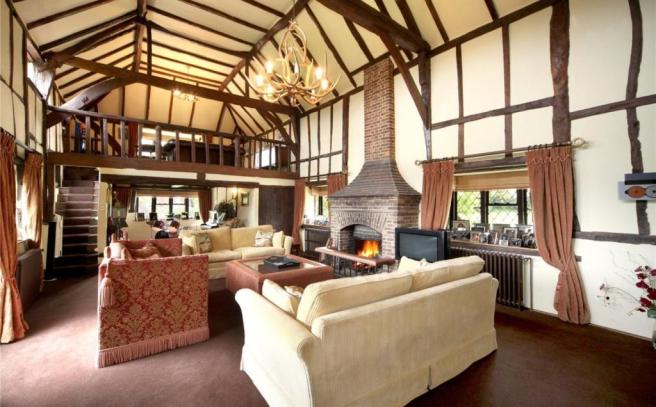 Vaulted Drawing Room
