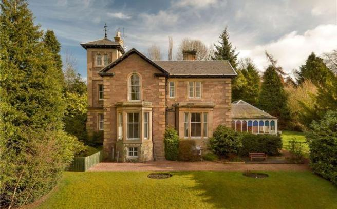 12 bedroom detached house for sale in rio, 14 dundee road, perth