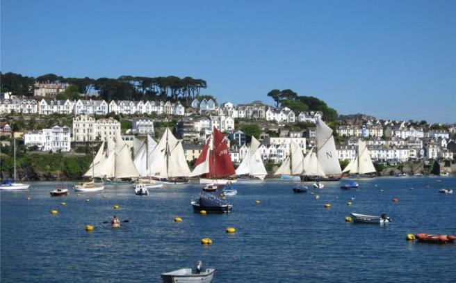 View Of Fowey River