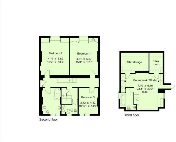 2nd & 3rd Floors No4