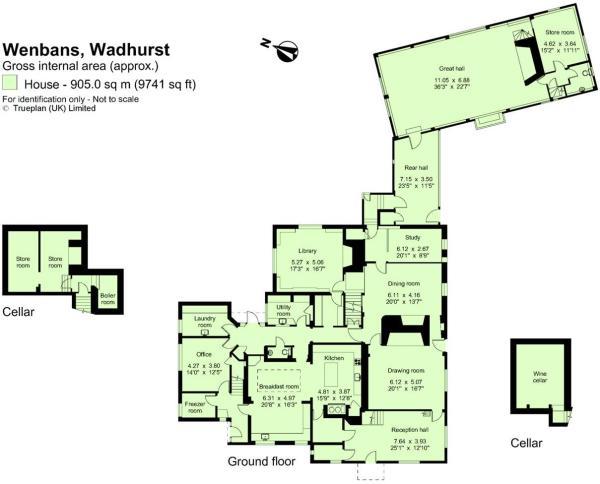 Ground Floor/Cellar