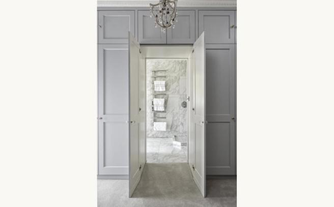 Doors To Master Bath