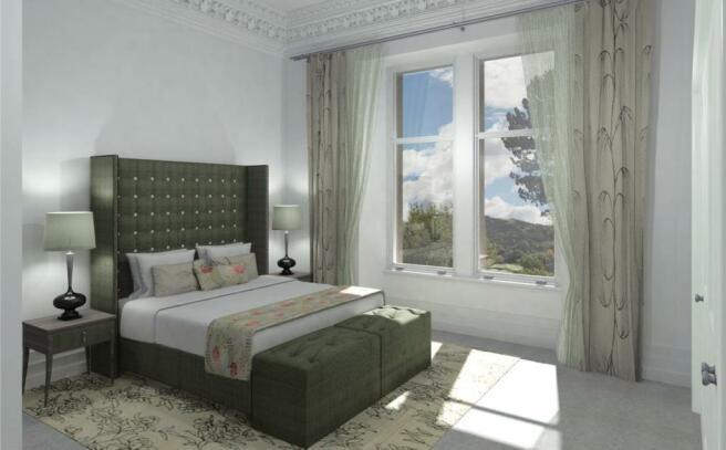 Apt 4 Master Bedroom