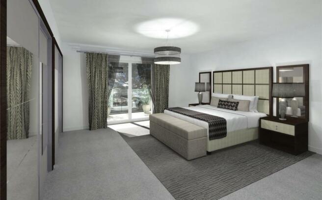 Apt 6 Master Bedroom