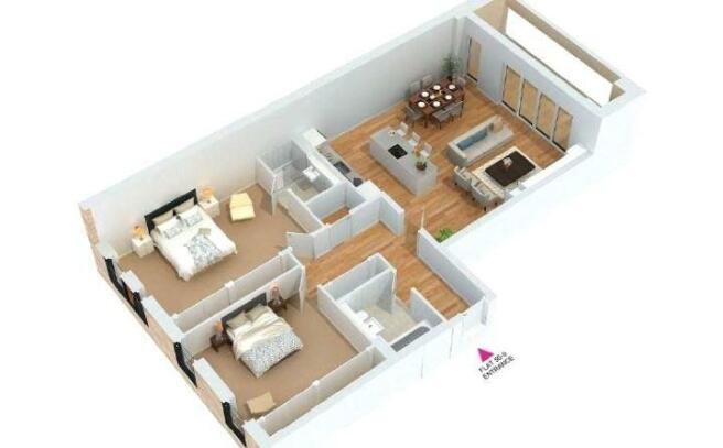 3D Floorplan 50/9