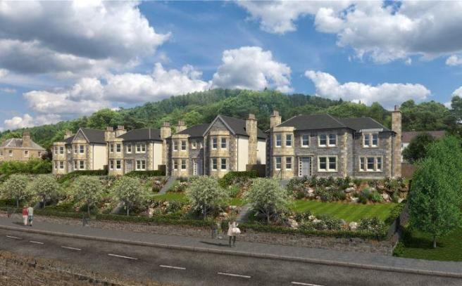 5 bedroom detached house for sale in house 3 teviot villa for Hydro gardens