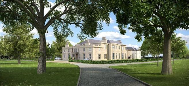 3 bedroom flat for sale in larbert house country estate for Country mansion for sale
