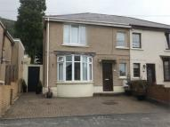 semi detached home for sale in Wern Road, Margam...