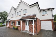 Nursery Close semi detached house to rent