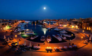 El Gouna At Night