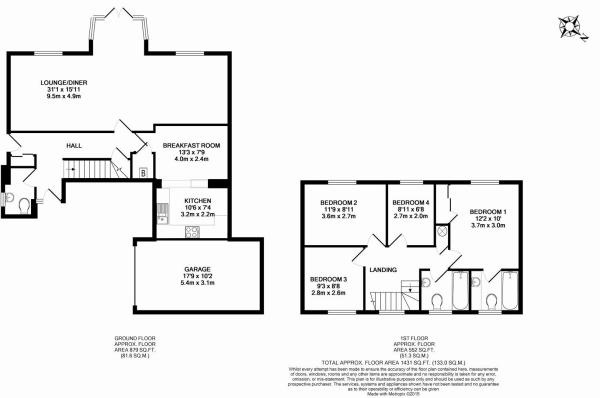 pond close floorplan