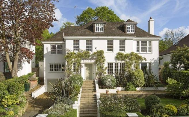 7 Bedroom Detached House For Sale In Home Park Road Wimbledon
