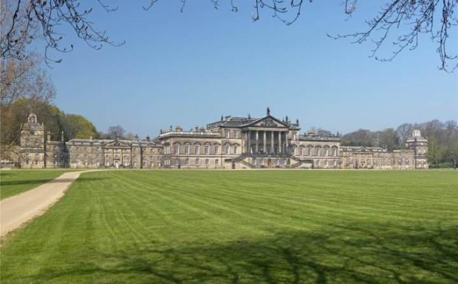 Wentworth Woodhouse sits in