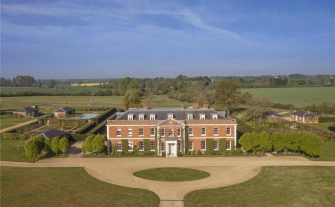Front Elevation. 12 bedroom detached house for sale in Great Canfield  Dunmow