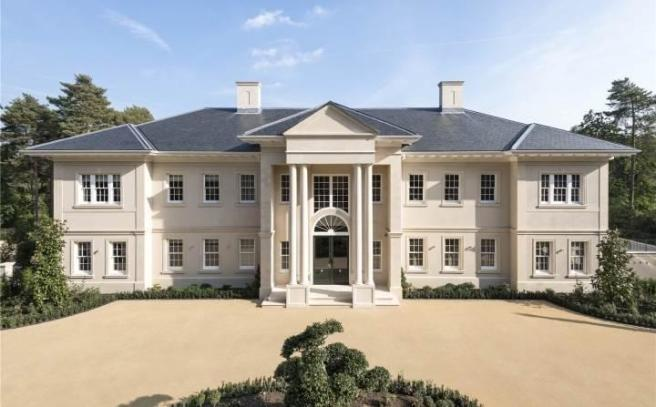8 bedroom detached house for sale in windlesham surrey for 8 bedroom homes