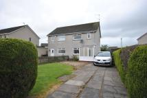 Boyd Orr Crescent semi detached house for sale