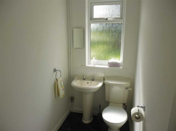 Downstairs WC/Utility Room