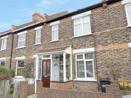 Terraced house in Anthony Road, London...