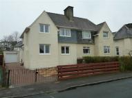 semi detached home for sale in Nelson Road, Gourock...