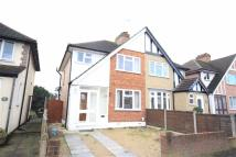 semi detached house in Harvey Road, Hillingdon...