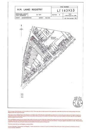 Land Title Plan