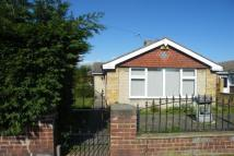 Bungalow in Crookesbroom Lane...